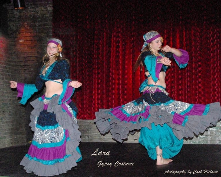 Lara's Gypsy Costume